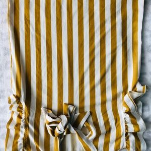 Mustard blouse